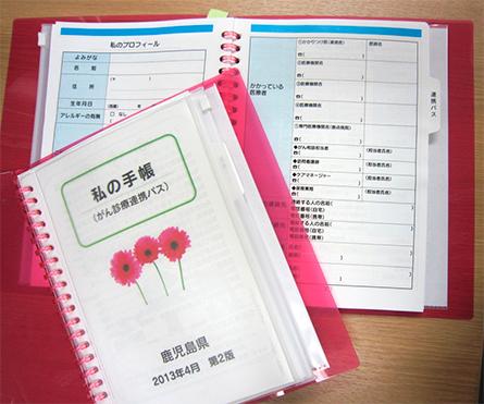 「私の手帳」サンプル